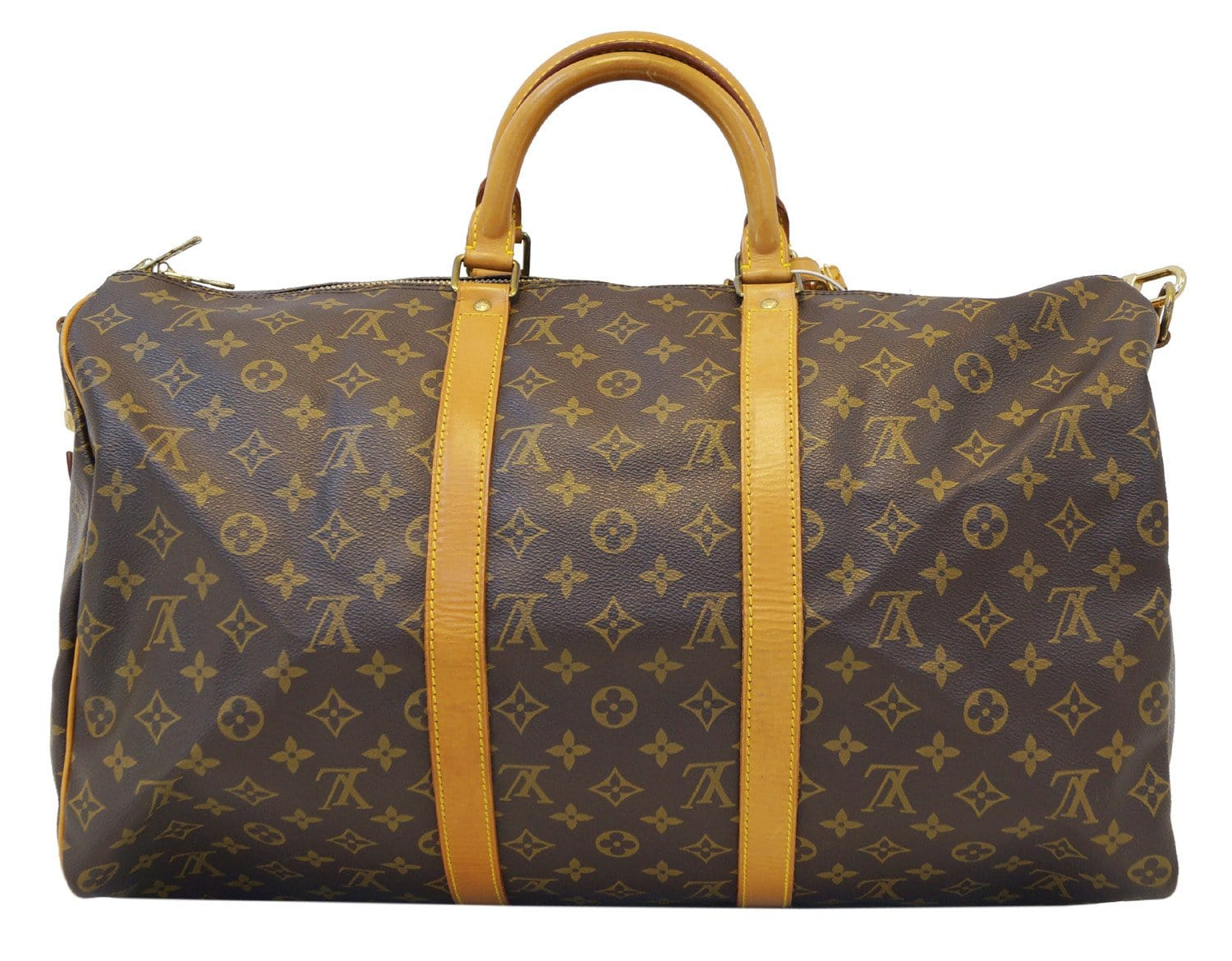 6fc0a8a57 LOUIS VUITTON Monogram Keepall Bandouliere 50 Travel Bag
