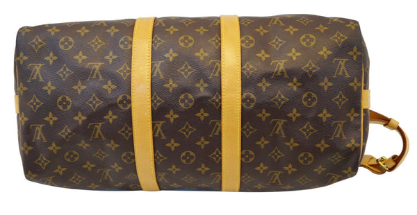 LOUIS VUITTON Monogram Keepall Bandouliere 45 Boston Bag