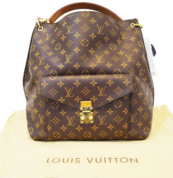 LOUIS VUITTON Metis Hobo Monogram Shoulder Bag with Strap