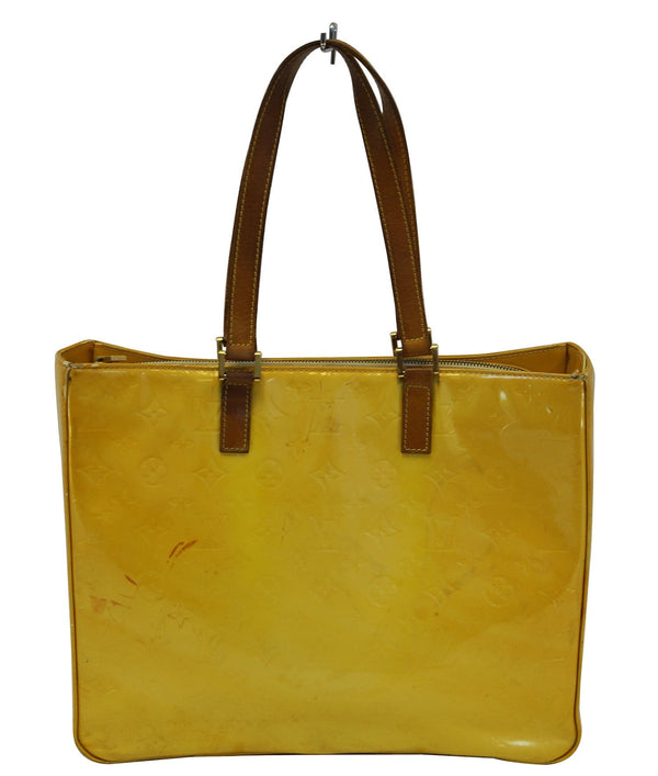 Louis Vuitton Colombus Vernis Leather Shoulder Tote Bag - Final Call