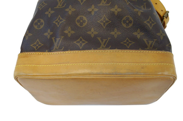 LOUIS VUITTON Monogram Noe Large Brown Shoulder Bag