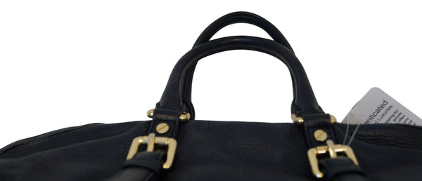 MICHAEL KORS Black Pebbled Leather Tote Shopper Bag E3111