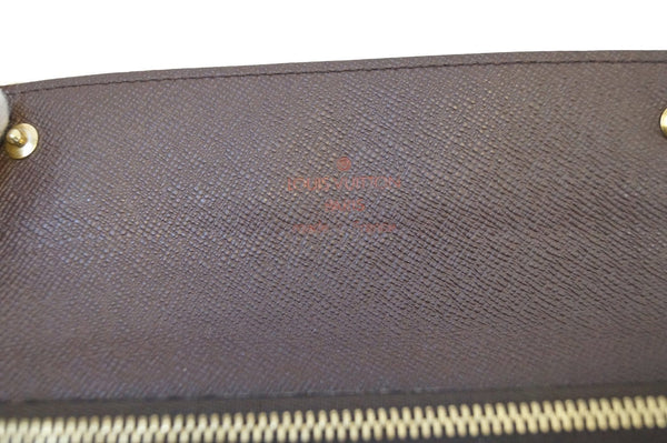 LOUIS VUITTON Damier Ebene Accordion Bifold Long Wallet - 20% Off