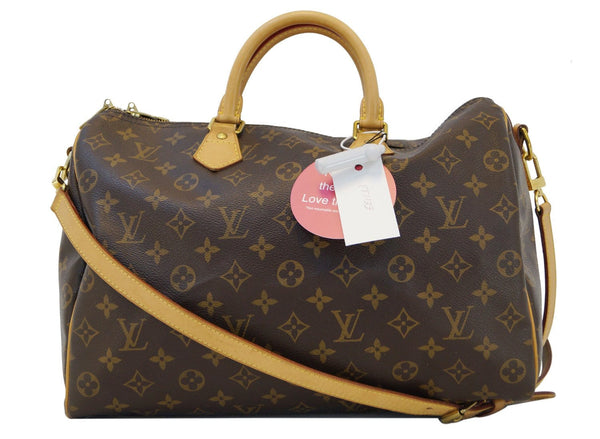 LOUIS VUITTON Monogram Canvas Speedy Bandouliere 35 Bag