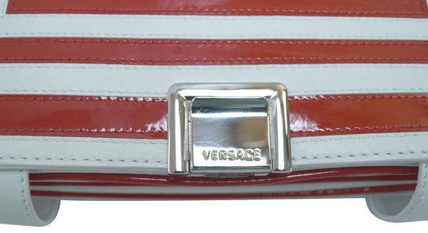 Versace Flap Shoulder Bag Leather for Women  - preowned