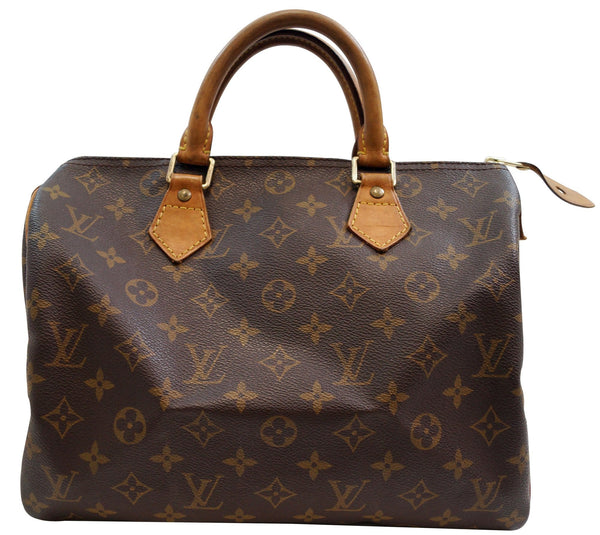 LOUIS VUITTON Monogram Speedy 30 Handbag Purse