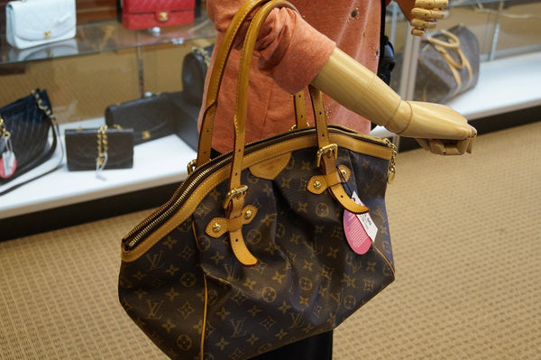 LOUIS VUITTON Monogram Tivoli GM Brown Tote Bag - Final Call