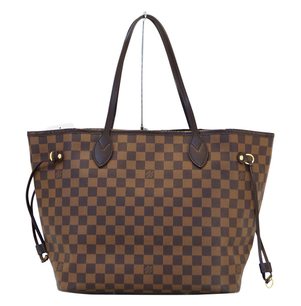 LOUIS VUITTON Damier Ebene Neverfull MM Shoulder Bag