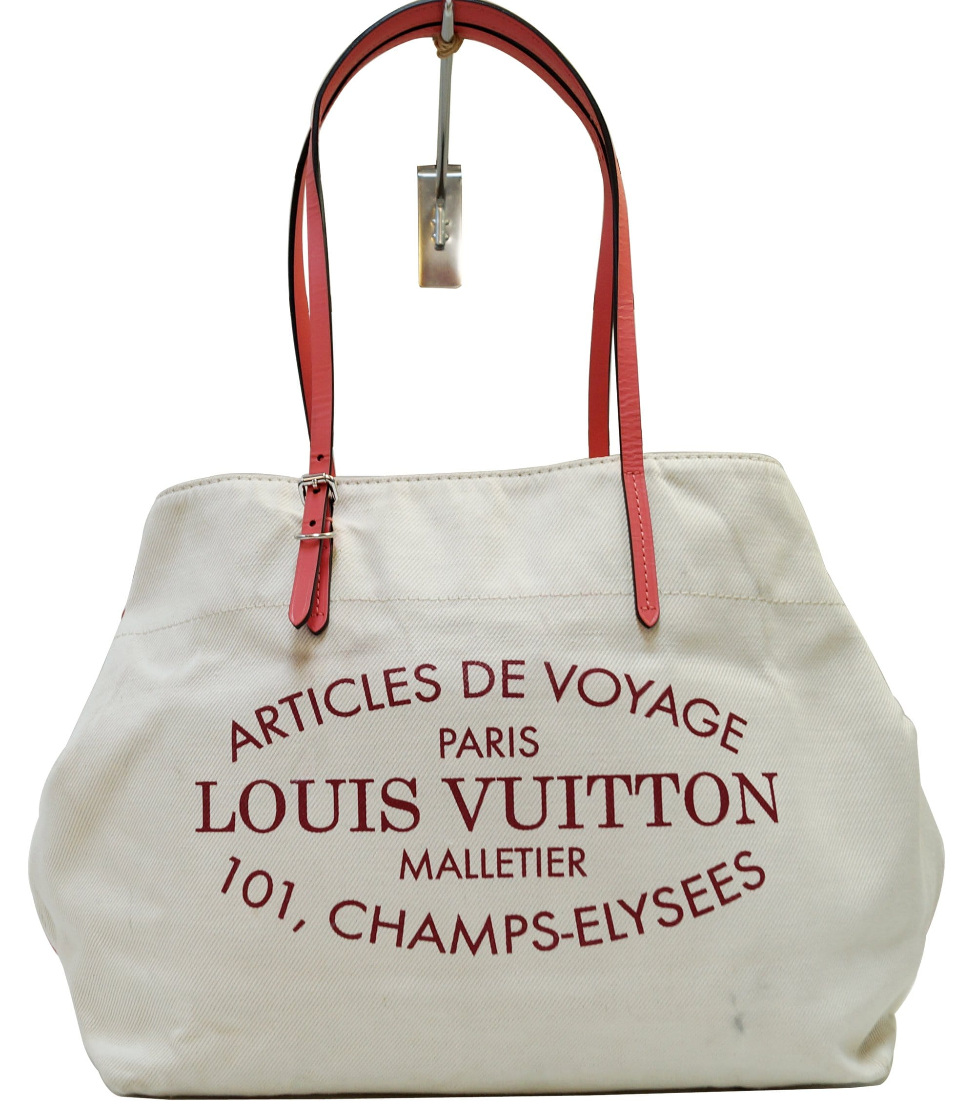 97bf965487d7 LOUIS VUITTON Articles De Voyage Cabas Waikiki GM Shoulder Bag