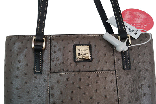 Dooney & Bourke Small Lexington Ostrich-Embossed Tote Shoulder Bag