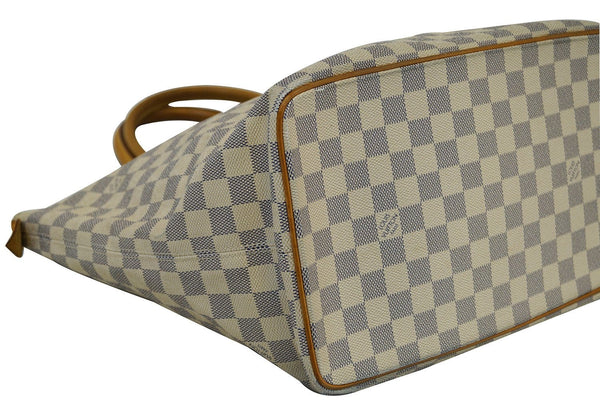 LOUIS VUITTON Damier Azur Saleya MM Shoulder Handbag - Final Call