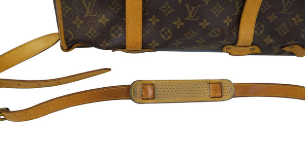 LOUIS VUITTON Monogram Saumur 43 XL Large Shoulder Bag