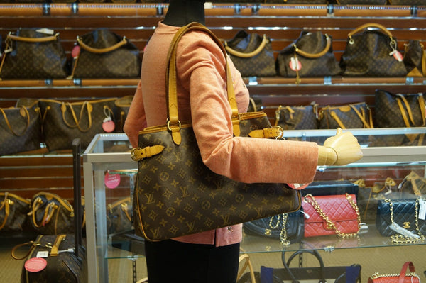LOUIS VUITTON Monogram Batignolles Horizontal Tote Bag