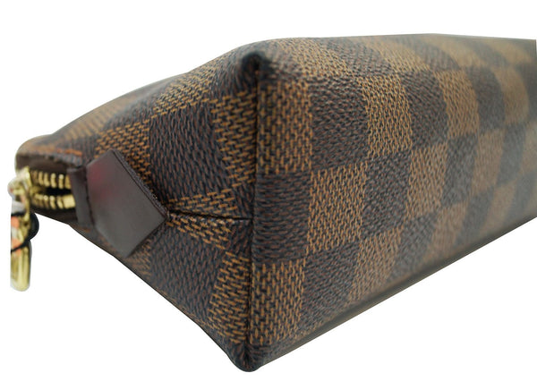LOUIS VUITTON Damier Ebene Pochette Cosmetic Pouch - 30% Off