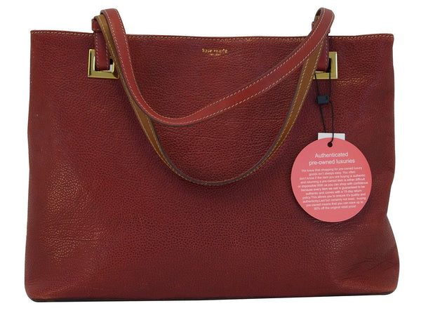 Kate spade Red Pebbled Leather Shoulder Bag TT390 - 20% Off