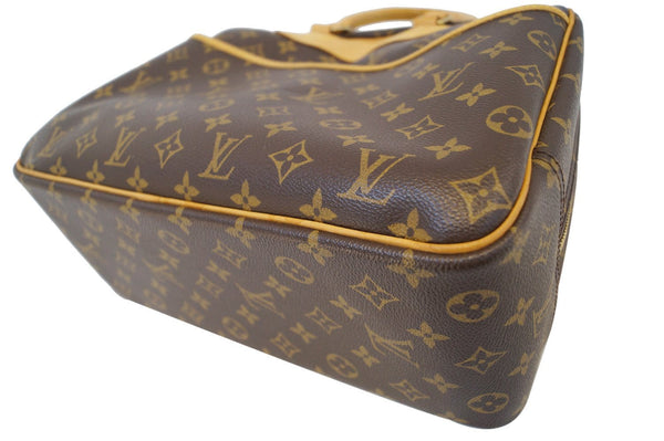 LOUIS VUITTON Monogram Deauville Boston Travel HandBag