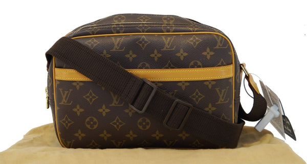 LOUIS VUITTON Monogram Reporter PM Messenger Bag