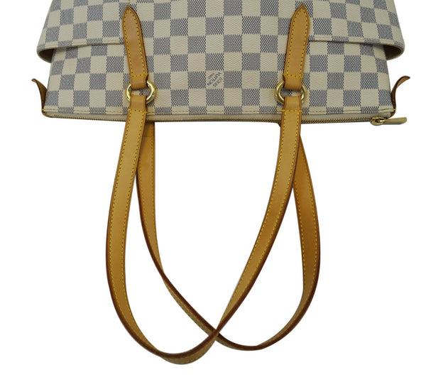 LOUIS VUITTON Damier Azur Canvas Totally PM Shoulder Bag