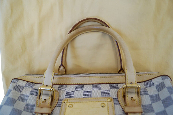 LOUIS VUITTON Damier Azur Berkeley Handbag