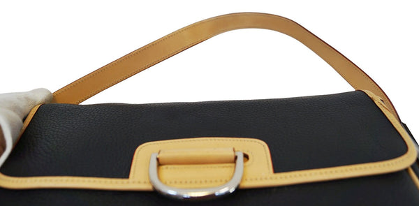 DOONEY & BOURKE Black Leather Shoulder Handbag