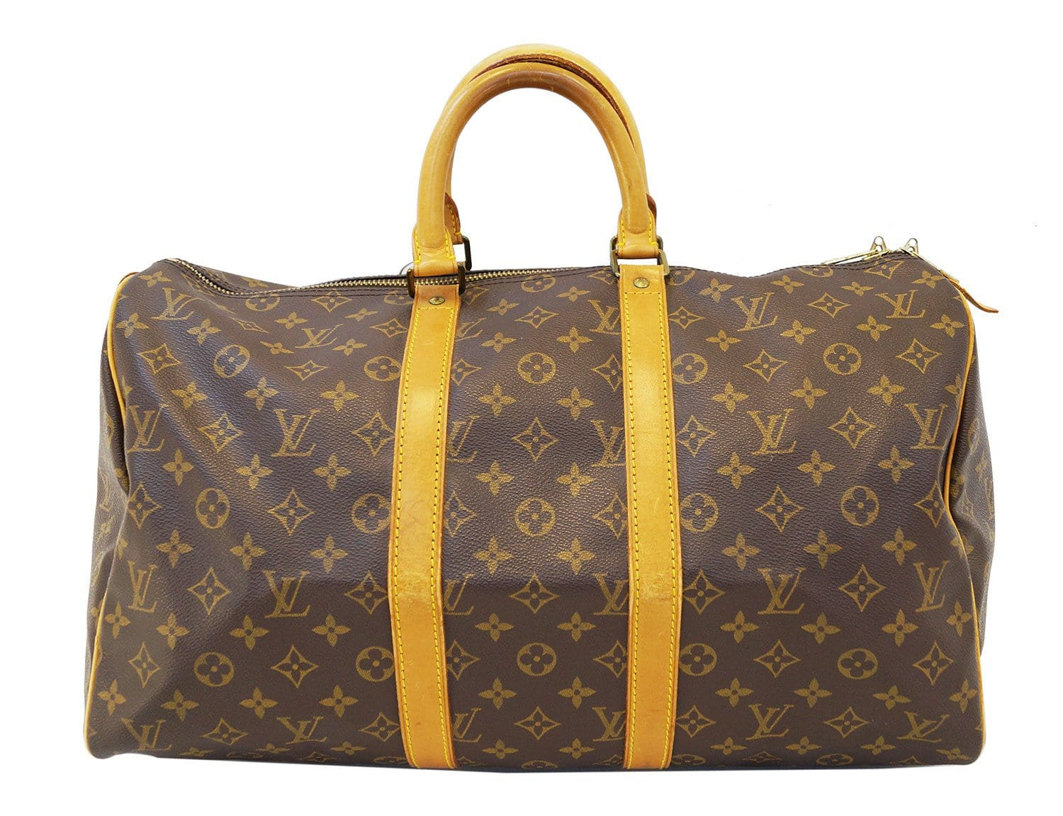 authentic louis vuitton keepall 45 monogram duffle travel bag vintage. Black Bedroom Furniture Sets. Home Design Ideas