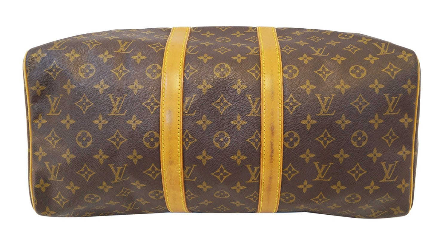 70bb274aa9b LOUIS VUITTON Keepall 45 Monogram Duffle Vintage Travel Bag
