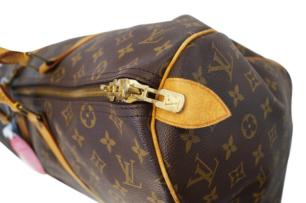 LOUIS VUITTON Keepall 45 Monogram Duffle Vintage Travel Bag