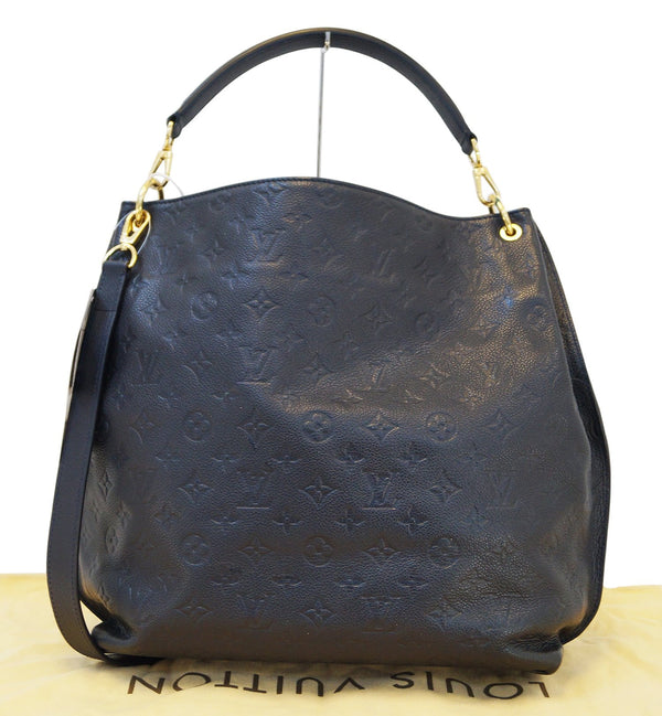 Authentic LOUIS VUITTON Monogram Empreinte Metis Hobo Shoulder Bag with Strap E3102