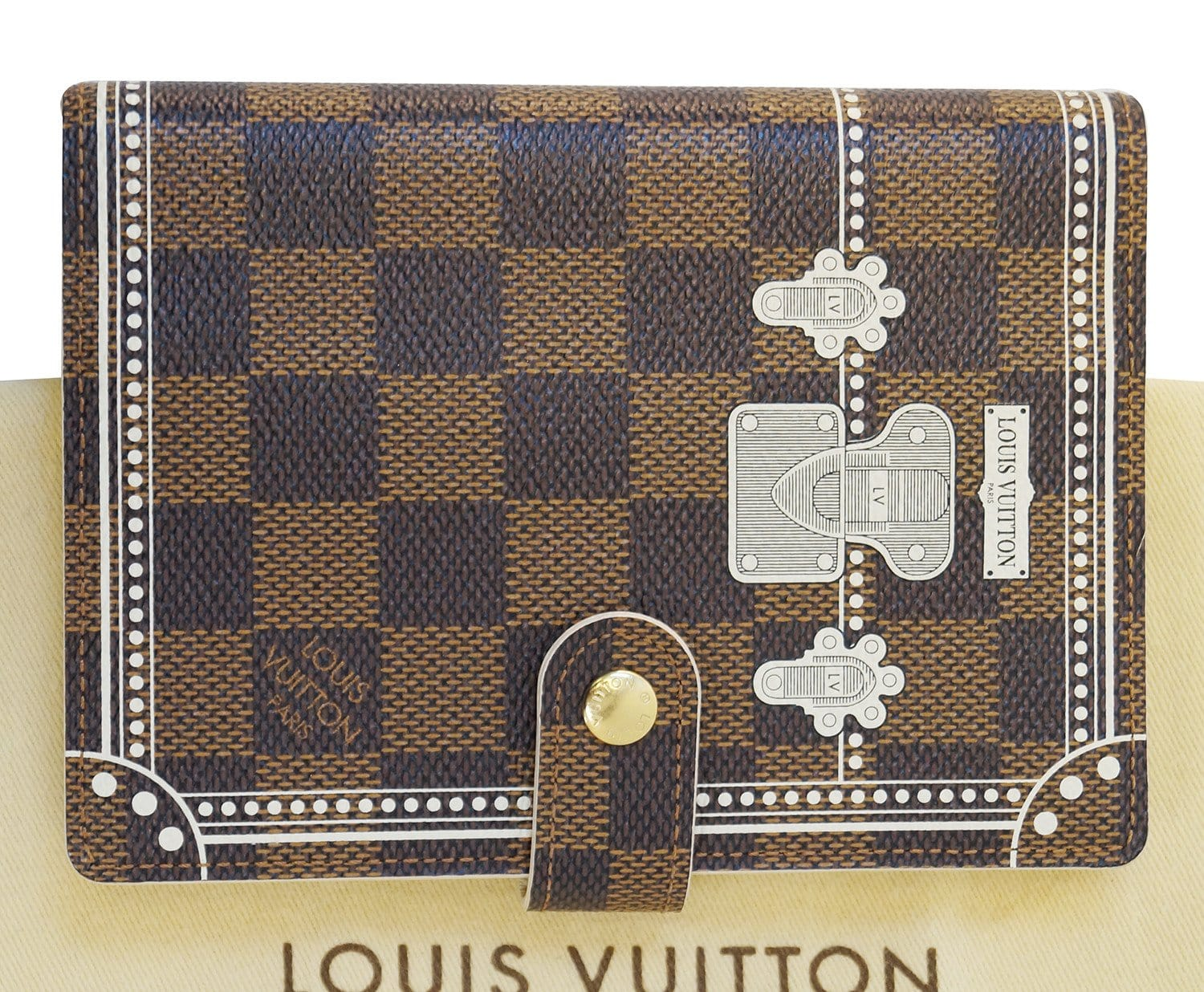 louis vuitton agenda. authentic louis vuitton damier agenda pm day planner cover lv print cc235