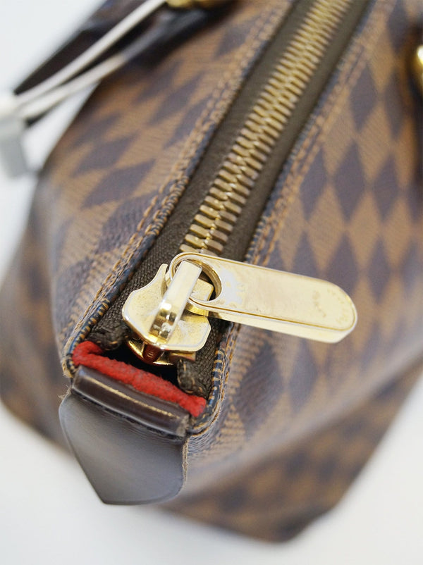 Louis Vuitton Damier Ebene Saleya MM Shoulder Handbag