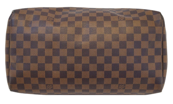 LOUIS VUITTON Damier Ebene Speedy 35 Handbag