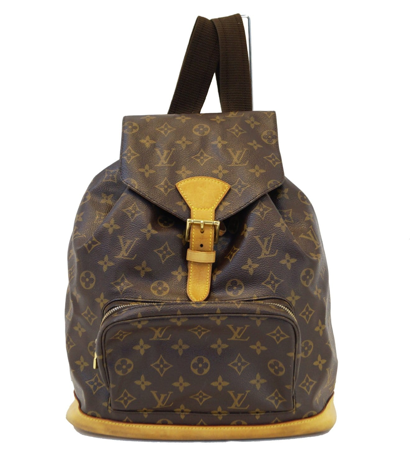 Authentic LOUIS VUITTON Monogram Brown Montsouris GM Backpack Bag TT13 918ad305cfe88