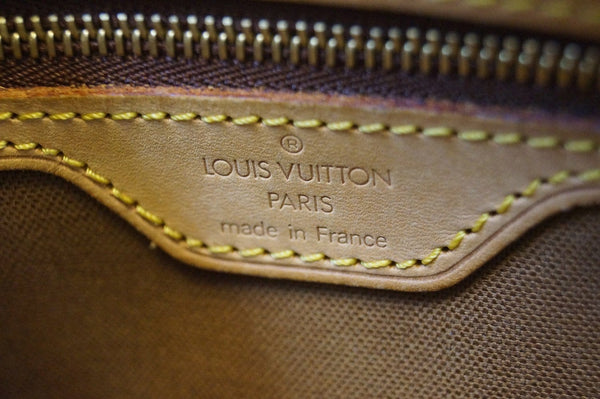 LOUIS VUITTON Monogram Trotteur Shoulder Bag