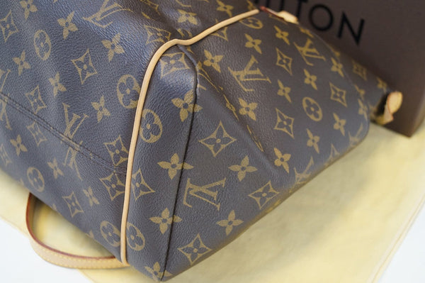 Authentic LOUIS VUITTON Monogram Brown Totally MM Tote Bag TT1371