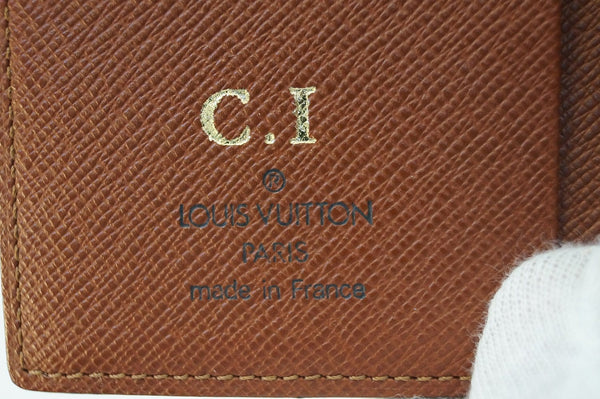 LOUIS VUITTON Monogram Mini Agenda Notebook Cover - Final Call