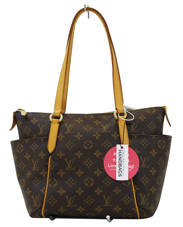 LOUIS VUITTON Monogram Totally Pm Brown Shoulder Handbag