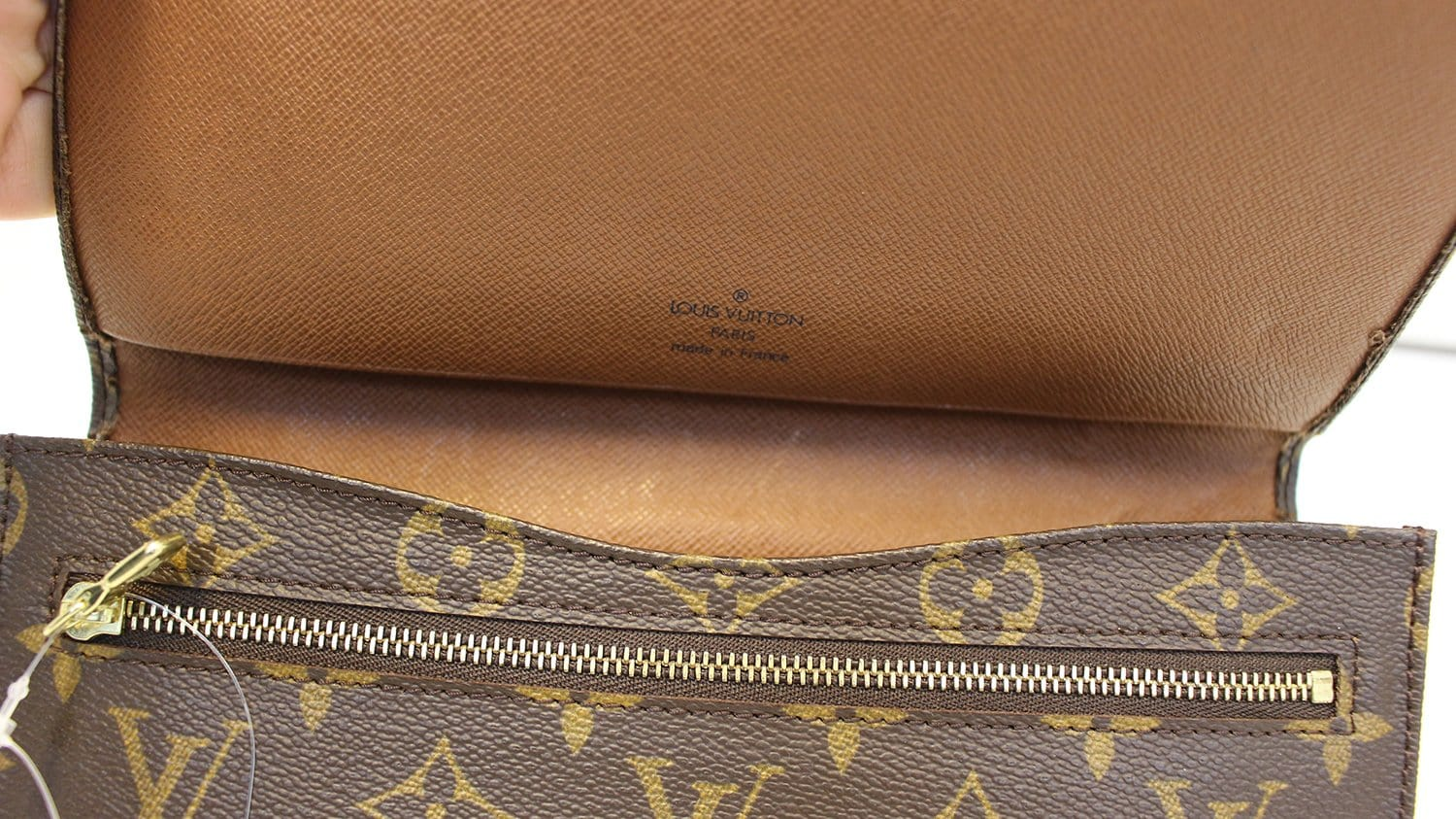 6896cf1a8a1b LOUIS VUITTON Monogram Canvas Pochette Rabat Clutch