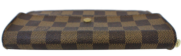 Louis Vuitton Bag Damier Ebene Sarah Canvas Wallet - Authentic