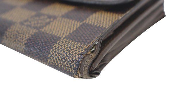 Louis Vuitton Bag Damier Ebene Sarah Canvas Wallet  - 100% pure