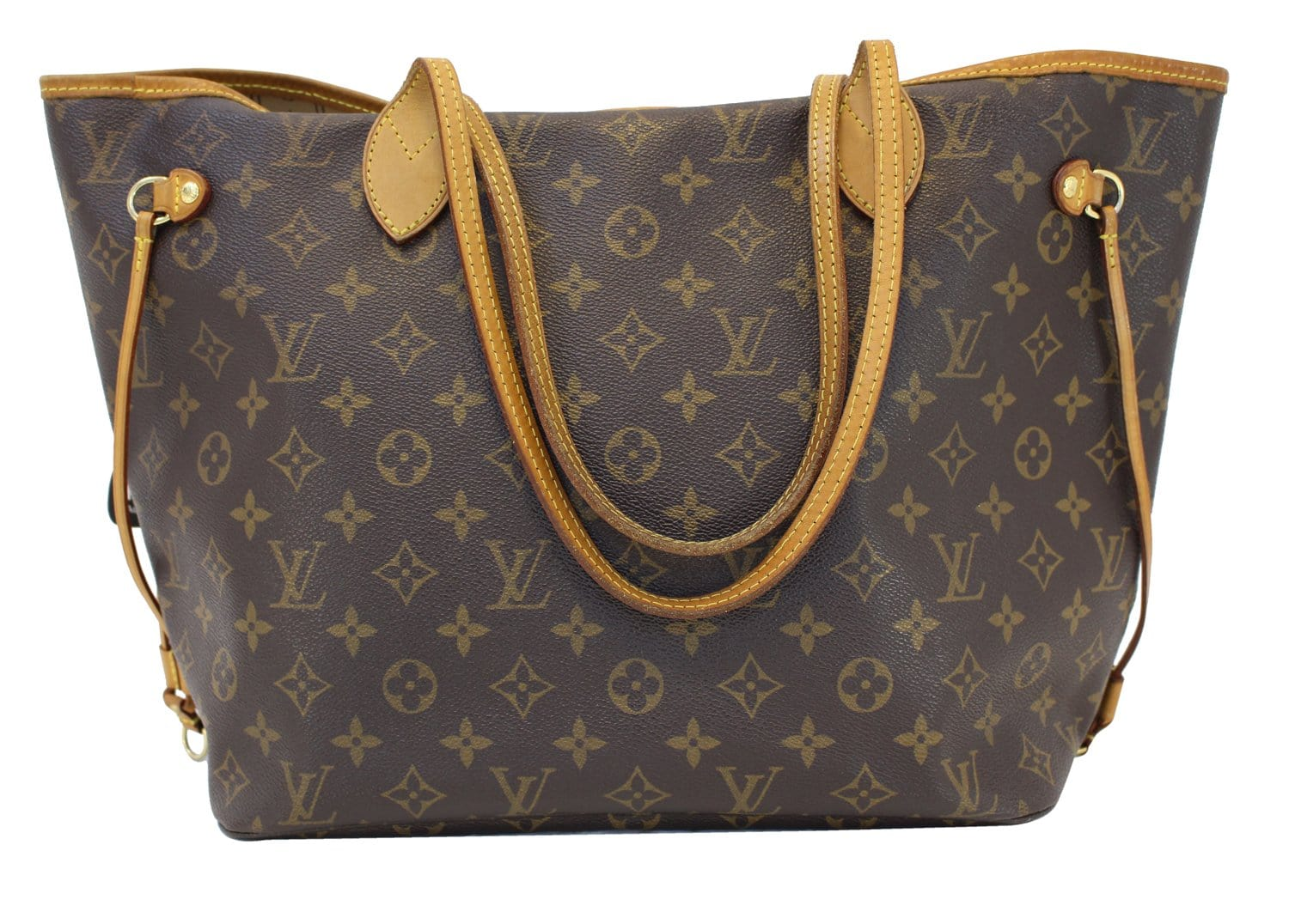 fd0364f4d7d4c Authentic LOUIS VUITTON Neverfull MM Monogram Canvas Tote Bag CC339