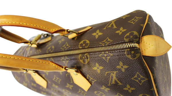 LOUIS VUITTON Monogram Canvas Speedy 35 Satchel Bag