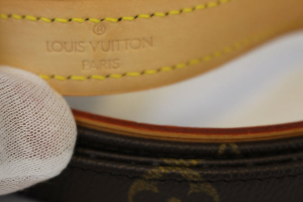 Authentic LOUIS VUITTON Monogram Dog Leash Baxter MM TT1422