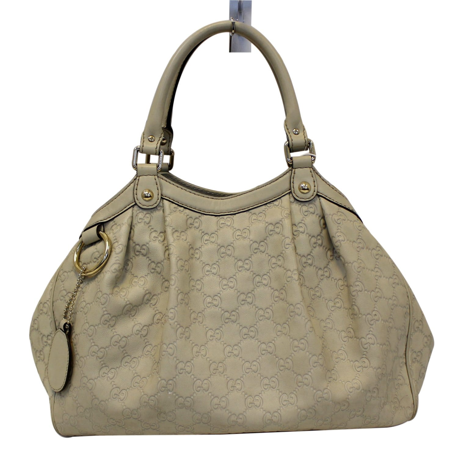 e02f393bf895 Gucci Sukey GG Guccissima Leather Medium Tote Bag