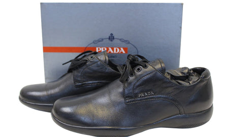 PRADA Women's Lace-Up Shoes Sneakers Size 40.1/2 - 30% Off