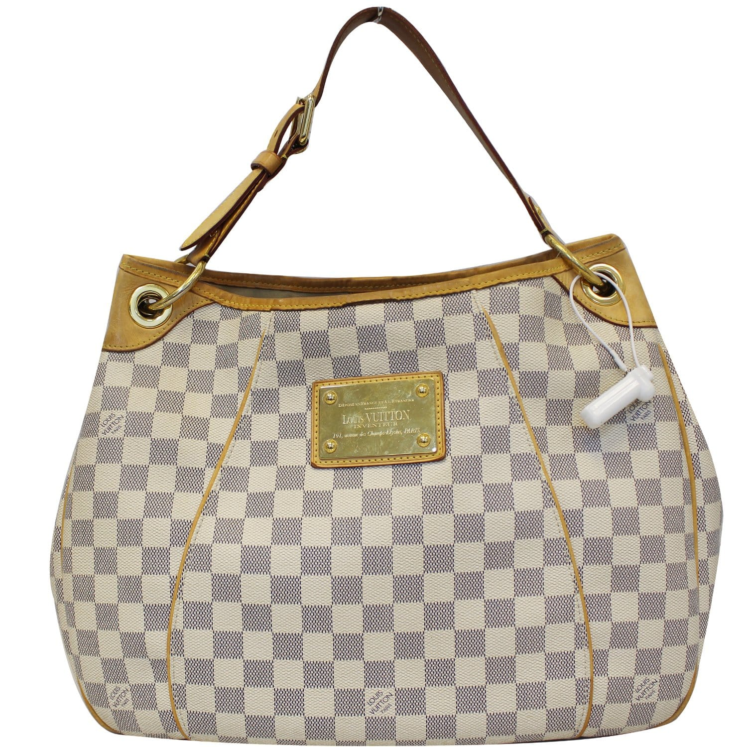 9090297ad76e6 LOUIS VUITTON Galliera PM Damier Azur Shoulder Bag-US