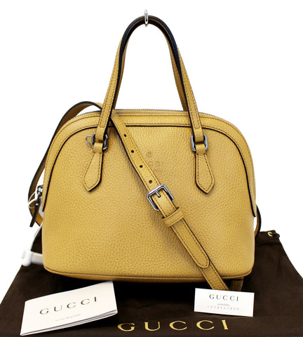 GUCCI  Convertible Dome Crossbody Bag