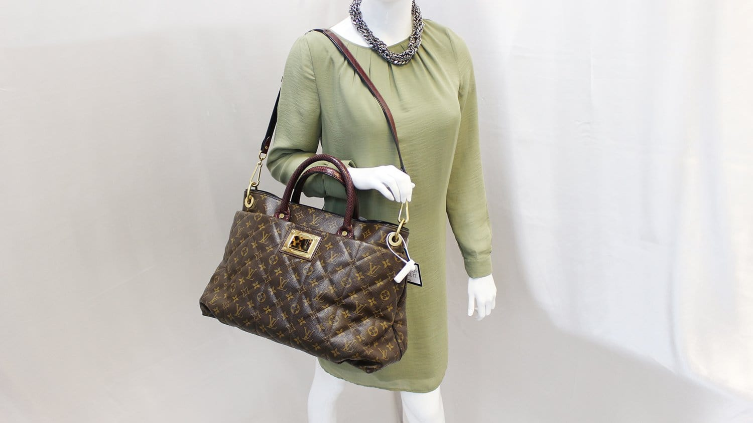 0f7c9ebe0f9e LOUIS VUITTON Monogram Etoile Exotique GM Tote Bag Limited Edition