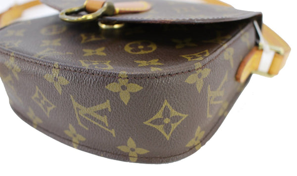 89b510282bd8 ... Authentic LOUIS VUITTON Monogram Canvas Saint Cloud PM Crossbody Bag  CC354 ...