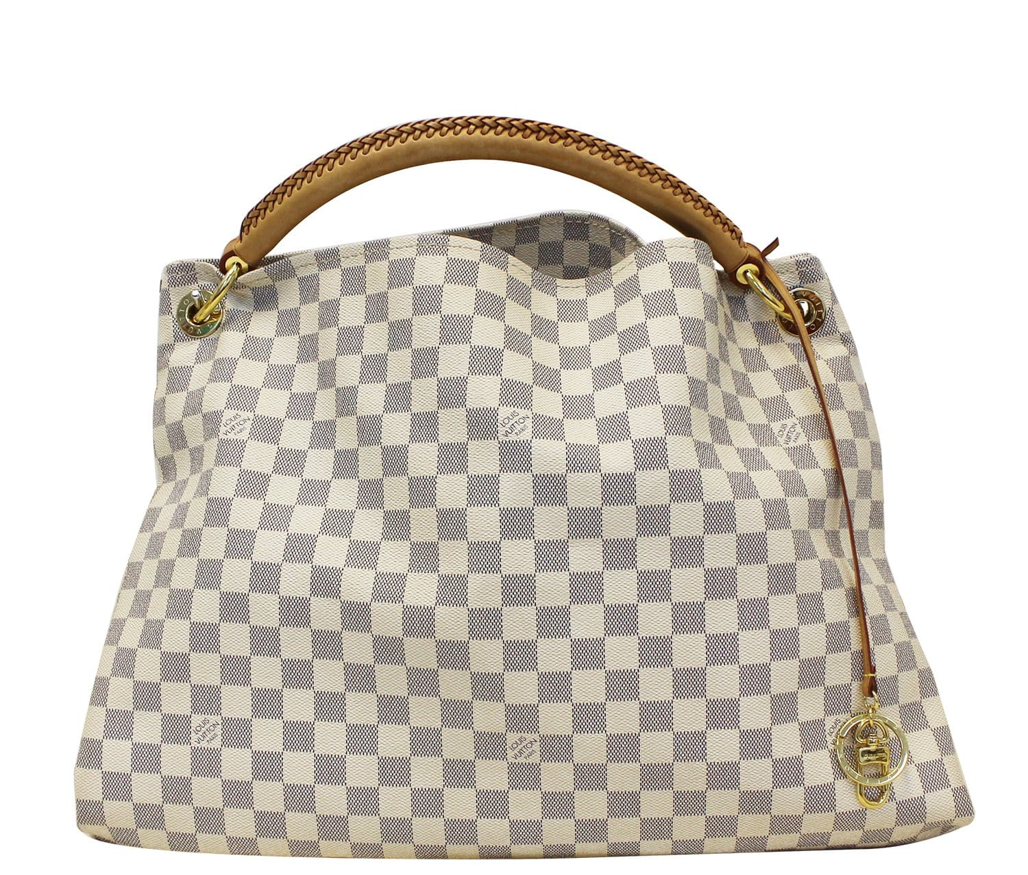6d334363af7f LOUIS VUITTON Damier Azur Artsy GM Shoulder Bag Limited