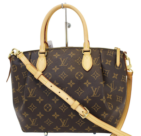 Authentic LOUIS VUITTON Monogram Turenne PM 2 Way Shoulder Handbag E3232